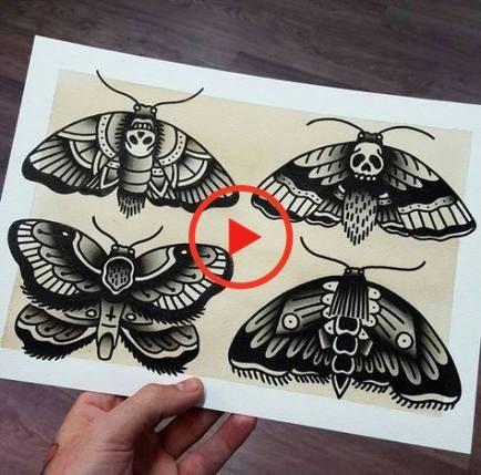 Motte Tattoo Bedeutung Des Motivs Und Einige Der Schonsten Mottenarten Tattoo Hals Polynesische Tattoos Frauen Schmetterlingstatowierungen