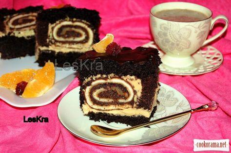 торт чорна троянда рецепт с фото пошагово