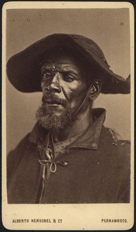 Alberto Henschel_portrait from Black Types_around 1869 in