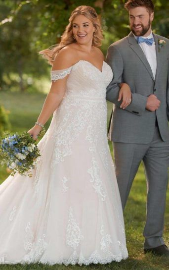 Beautiful Plus Size Wedding Dresses in Iowa | Hope\'s Bridal ...