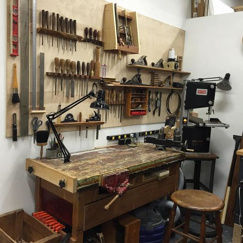 Today was the third day spent in my new #workshop...