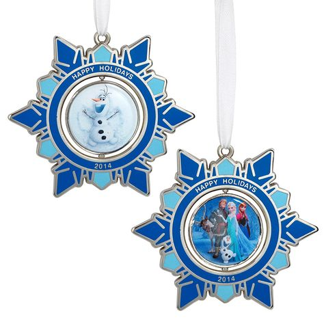 The vote is in! Get your Disney Movie Rewards Frozen Spinning Holiday Ornament 2014 while you can!  (SOLD OUT)