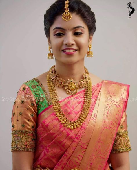 Muhurtham look for my lovely bride Rasika😊 For bridal bookings contact 9840312031