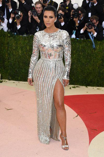 Kim Kardashian in Balmain, 2016 - The Most Daring Met Gala Dresses - Photos