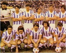 Real Valladolid Deportivo Valladolid España Temporada 1979 80 Bebic Laguna Gratacós Sánchez Vall Equipo De Fútbol Fotos De Fútbol Camisetas De Fútbol