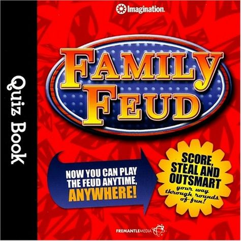 Family Feud Quiz Free Questions (and Answers) Gaming, Group - Family Feud Power Point Template
