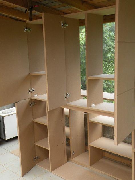 L Atelier Bois Generic Placard Mdf 2 Assemblage Amenagement Placard Amenagement Placard Chambre Fabrication Meuble