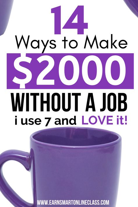 21 Simple Ways to Make Money Without a Job - Perfect Side Hustles