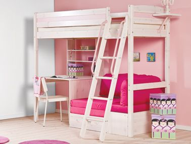 High Sleeper Bed Bedrooms And Room Lo Amo Hasta Las Visitas Caben Bunkbeds Alias Camarotes