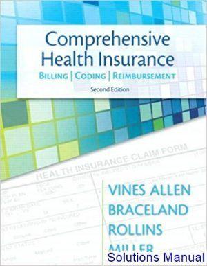 Comprehensive Health Insurance Billing Coding And Reimbursement