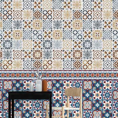 15 Cm X 15 Cm Pvc Mosaikfliesen Selbstklebendes Ellen