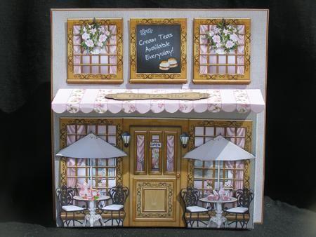 The Tea Shop 3d Card Mini Kit Cup638198 425 Craftsuprint Tea