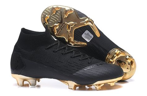 4b20548eda6 Lightest Nike Mercurial Superfly VI 360 Elite FG Soccer Cleats - Black Gold