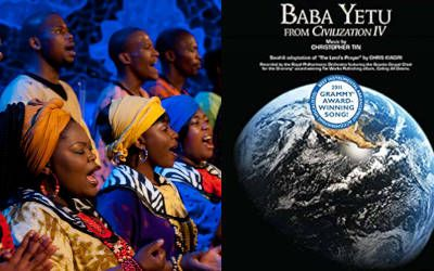 What Is Baba Yetu Meaning Lyrics Awards Music Articles Lyrics Meant To Be