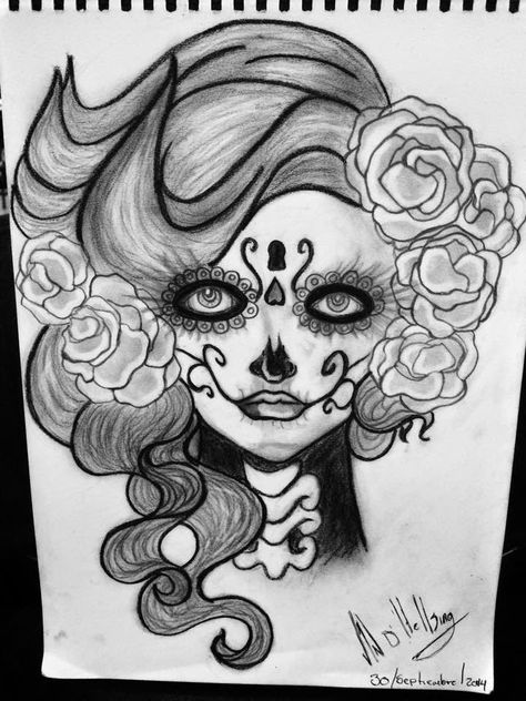 List Of Pinterest Catrina Dibujo Lapiz Pictures Pinterest Catrina
