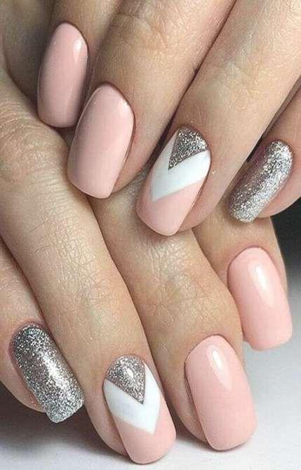 22 Super Ideas For Wedding Nails Art Winter Nails Wedding