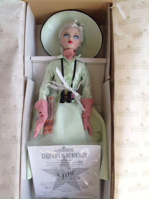 "Gene 2003 CONVENTION Doll ""Derby Dreams"" by Mel Odom LE 425 Box & Certificate 