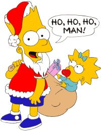 8 best Christmas Simpsons images on Pinterest | The simpsons ...