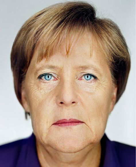 Martin Schoeller · Angela Merkel · 2009