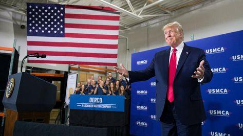 US-Konjunktur: Donald Trump schlägt sich selbst
