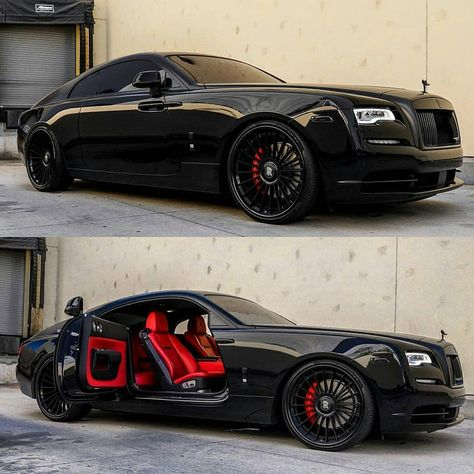 Red on Black Rate this Cars rolls royce Luxury Sports Cars, Top Luxury Cars, Sport Cars, Voiture Rolls Royce, Rolls Royce Cars, Rolls Royce Sports Car, Rolls Royce Vintage, Supercars, Audi Supercar
