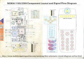 Circuit Diagram Nokia 1100 - Wiring Diagram M8 on