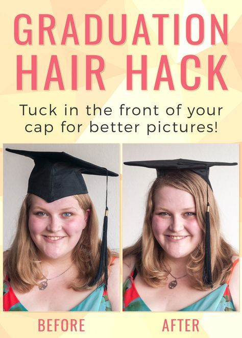 35 Graduation Hairstyles And 3 Hair Hacks To Achieve Them College Compass Graduation Hairstyles Graduation Hairstyles With Cap Graduation Look