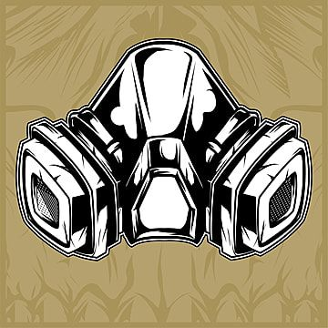 Gas Mask Hand Drawing Vector Protections Gases Masks Png And Vector With Transparent Background For Free Download Gas Mask Art Gas Mask Drawing Gas Mask Tattoo