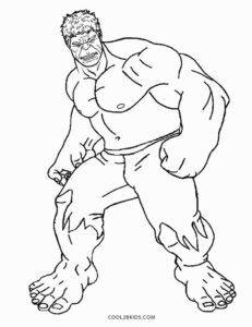 Free Printable Hulk Coloring Pages For Kids Cool2bkids Desenhos De Homens Folhas Para Colorir Desenhos