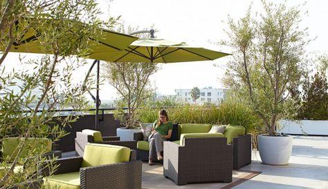 Relativity Media Corporate Office Terraces Terracegarden Office Terrace Garden In 2020 Terrace Design Roof Landscape Terrace
