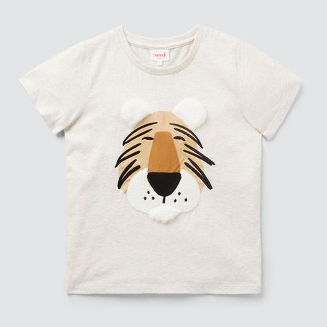 Texture Tiger Tee In 2020 Cute Tigers Tees Animals For Kids