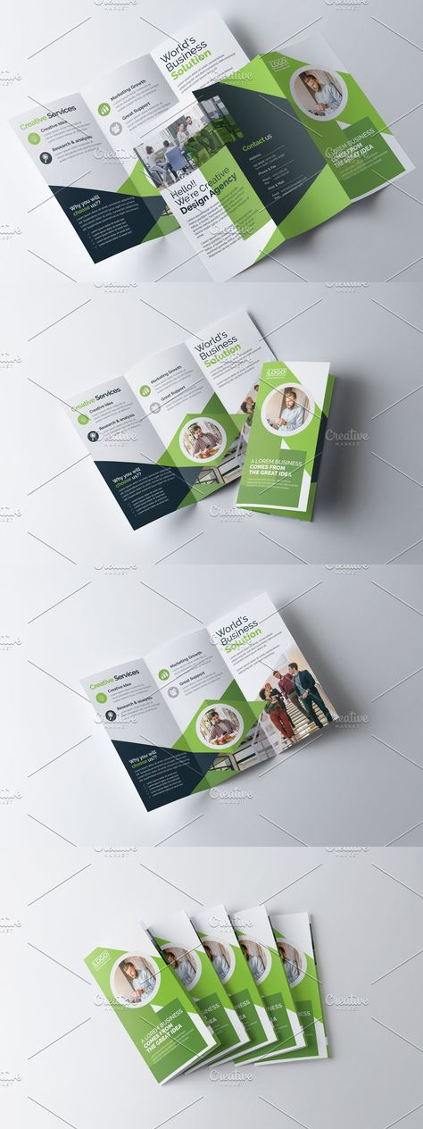 Trifold Clean Brochure Template