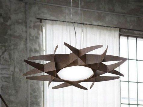 Lampadario In Legno Design : Lampadari in legno moderni dal design contemporaneo lámparas