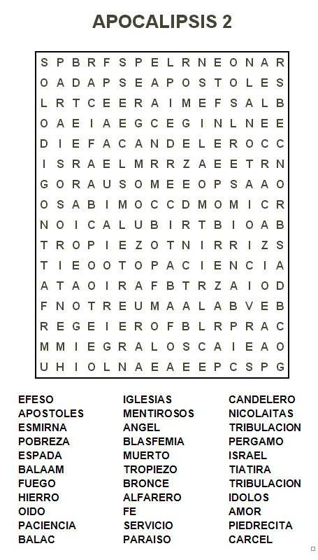 Sopa De Letras Para Ninos Cristianos Sopa De Letras By Sopa De
