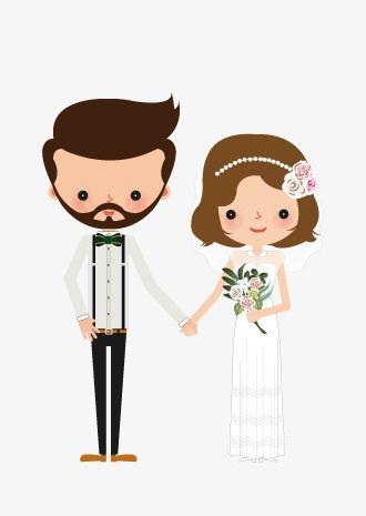 A Noiva E O Noivo Clipart De Noiva Casamento De Estilo Ocidental Vestido De Casamento Imagem Png E Psd Para Download Gratuito Casamento Desenho Casal De Noivos Convite Padrinhos Casamento