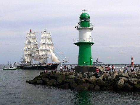 """Mercedes"" - Hanse Sail - Rostock-Warnemünde, Baltic Sea, Germany von Petra Wittfoth"
