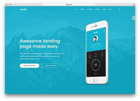 wordpress landing page theme free