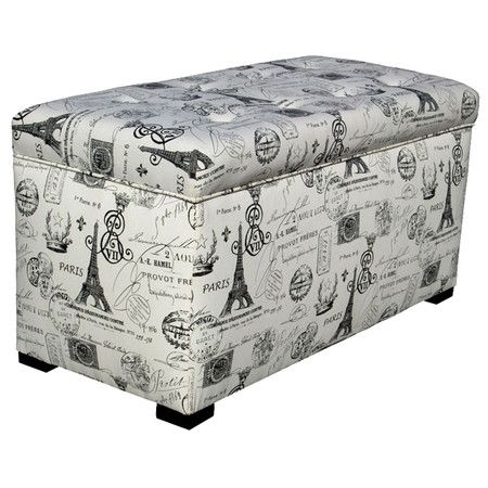 Sole Designs Angela Paris Match Blue Storage Trunk | Carolineu0027s New Room? |  Pinterest | Storage Trunk, Storage Ideas And Paris Bedroom
