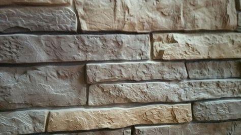 Exteria Premium Stacked Stone Sedona Buff With Images Stone Vinyl Siding Stacked Stone Vinyl Siding