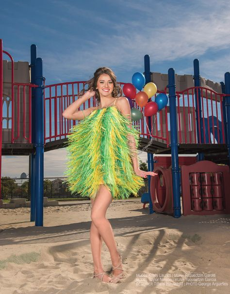 Erin Snow Miss Alabama Teen USA 2016 Black Strapless
