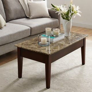 Coffee Coffee Sofa End Tables Overstock Com Buy Living Room Furniture Online Faux Marble Coffee Table Wood Lift Top Coffee Table Coffee Table