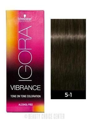 Schwarzkopf Igora Royal Vibrance Tone On Tone Hair Color 5 1 Light Brown Cendre 7702045560343 Ebay In 2021 Hair Color Brands Permanent Hair Color Hair Color Swatches