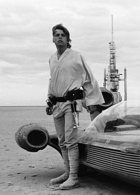 Mark Hamill as Luke Skywalker - 'Star Wars'.