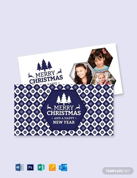 Free Christmas Greeting Card Template Word Doc Psd Apple Mac Pages Publisher Outlook Free Christmas Greeting Cards Christmas Greeting Card Template Greeting Card Template