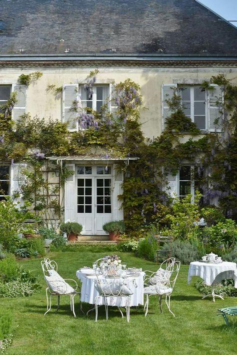 Beautiful Garden Strandhauser Franzosisches Landhaus Franzosischer Landhausstil
