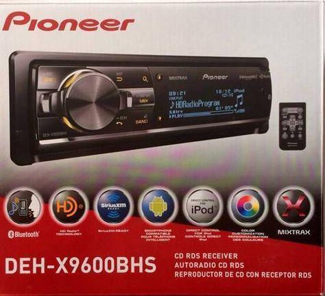 Pioneer Deh X9600bhs Mp3 Wma Aux Usb Bluetooth Satellite Radio Radio Car Stereo Systems Bluetooth