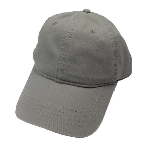 2033695d0cc Garment washed twill cap. Velcro backstrap Stitched eyelets on all six  panels. One size. 100% cotton