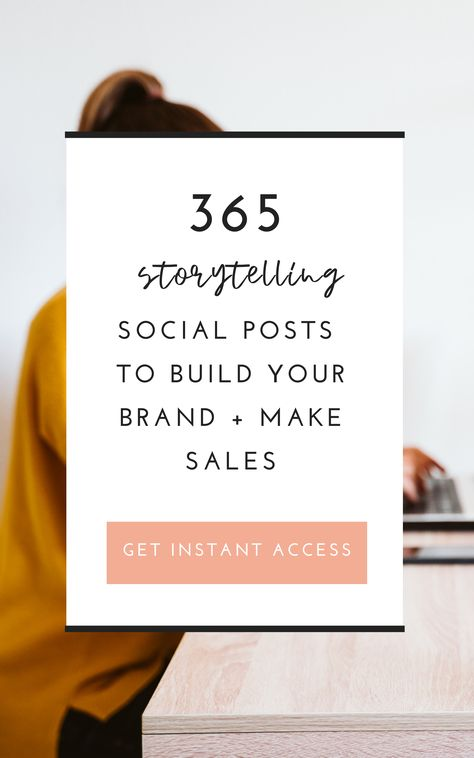 Get 365 Social Media Posts To Build You Brand and Make Sales