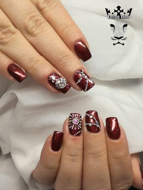 nails Christmas nails #nails💅...