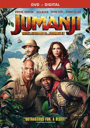 Jumanji Welcome To The Jungle Dvd 2018 Includes Digital Copy New Filmes Gratuitos Filmes Assistir Jumanji